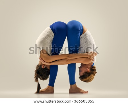 partner yoga stock images royaltyfree images  vectors