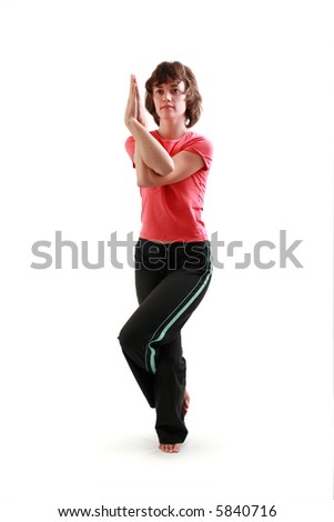 garudaasana stock images royaltyfree images  vectors