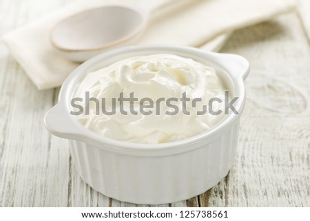 Yogurt - stock photo