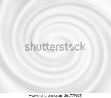 Yogurt ice cream background. Snowy white mousse texture. White cheese cream. Tasty liquid texture of milky smooth product. Sweet food silky texture. Creamy dairy product. - stock photo
