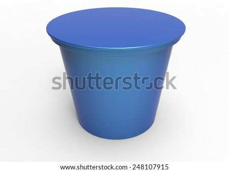 yogurt plastic box