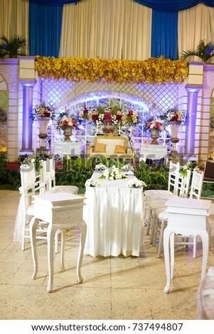 Indonesia wedding decoration images wedding decoration ideas yogyakarta indonesia october 1st 2017 wedding stock photo royalty yogyakarta indonesia october 1st 2017 wedding party junglespirit Image collections