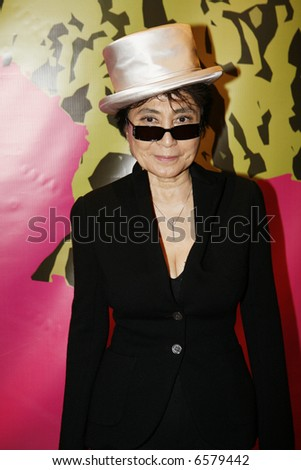 Yoko Ono - stock photo