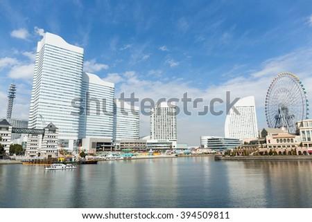Yokohama city - stock photo