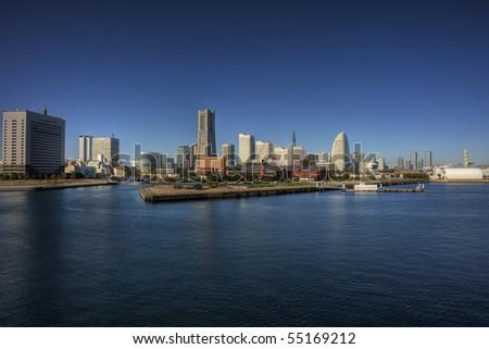 Yokohama Minato Mirai - stock photo