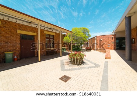 YORK, AUSTRALIA - November 7, 2016 : York Visitor Centre.  York is the oldest inland town in Western Australia . and is the seat of the Shire of York.