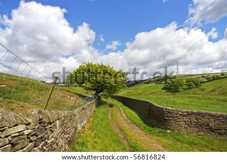 Yorkshire Dales - stock photo