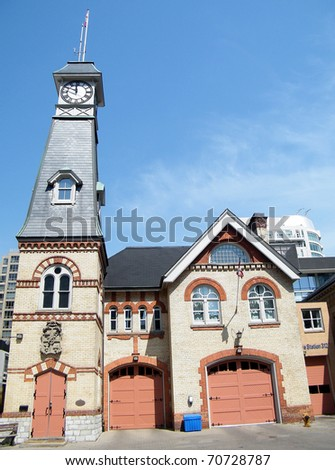 Yorkville Town Hall in Toronto Ontario, Canada - stock photo