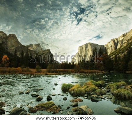 Yosemite - stock photo