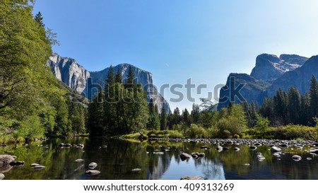 Yosemite National Park in summer
