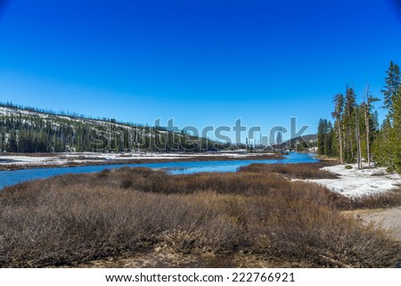 Yosemite National Park, Wyoming, USA - stock photo