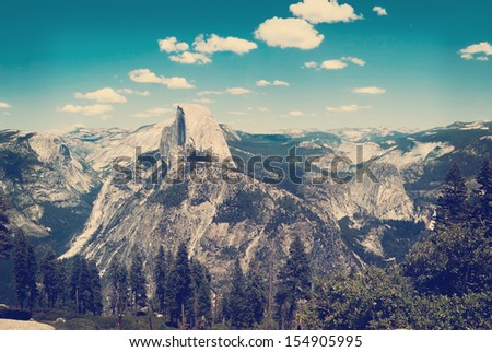 Yosemite Valley - stock photo