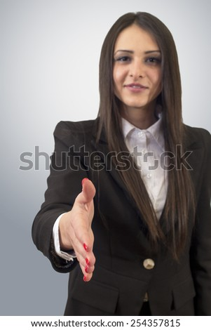 You are hired! - stock photo