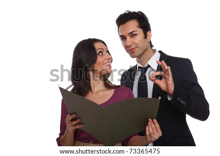 You did an excellent job! Job well done! - stock photo