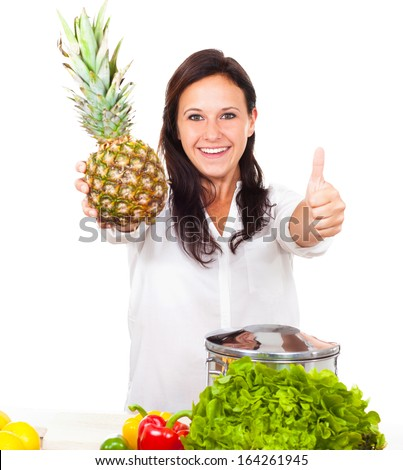 Youman wants to cook fresh - stock photo