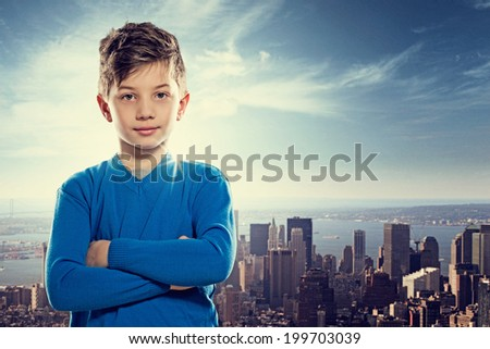 Young Achiever - stock photo