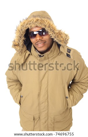 Young african man - stock photo