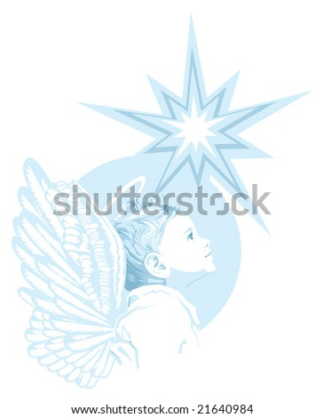 Young Angel - stock photo