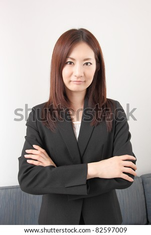 Young Asian Businesswoman - stock photo