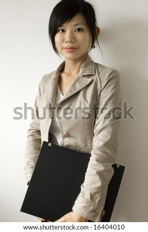 Young Asian education / business women - stock photo