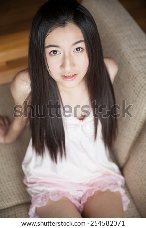 Asian girl photo young
