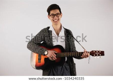 Asian guys guitar jazz