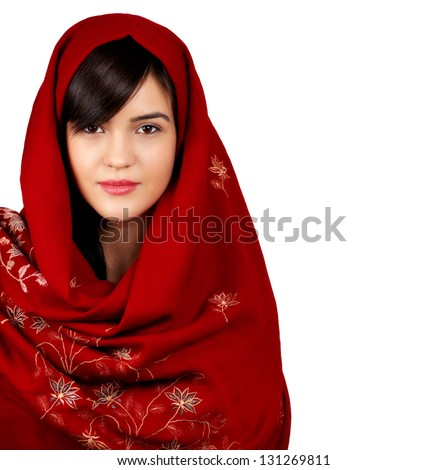 arabian girl nudes with scarfs on heads