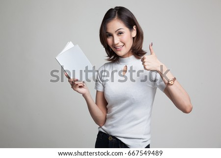 Reading stock girl book