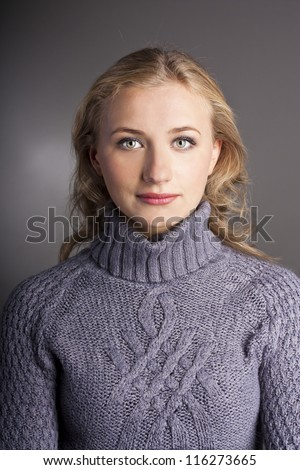 Woman Turtleneck Stock Photos Images Amp Pictures