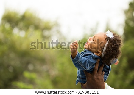 Young baby crying. - stock photo