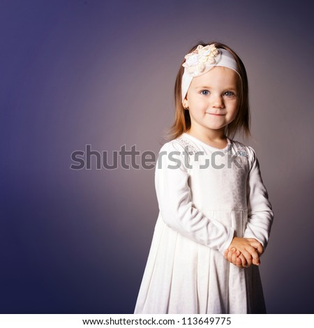 young beautiful girl - stock photo