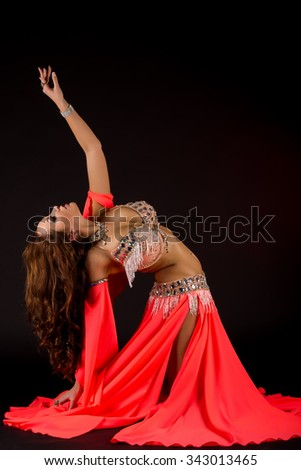 Young Beautiful Sexy Belly dancer
