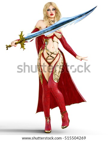 sexy girl sword stock images royaltyfree images