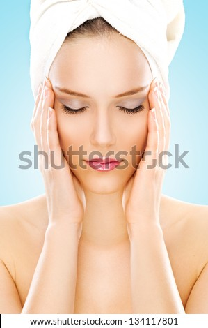 Young beauty - stock photo