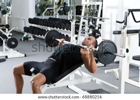 Bench Press Stock Images Royalty Free Images Amp Vectors