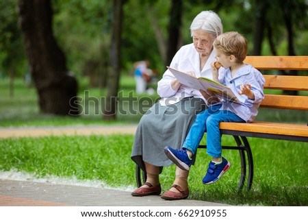 grannies and young boys