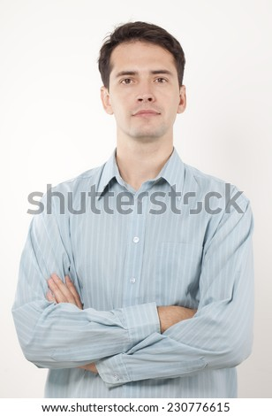 Young Business Man. - stock photo