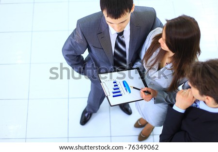 young business people - stock photo