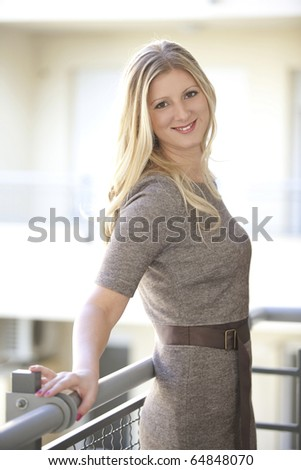 Young business woman at home age 25 to 30 - stock photo