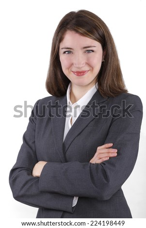 Young businesswoman,  - stock photo