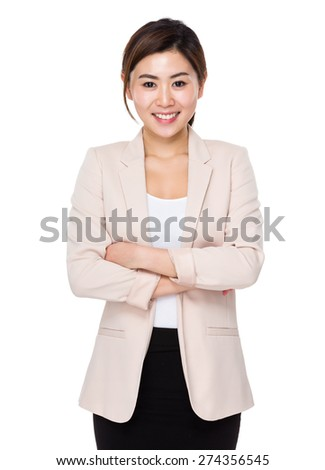 Young Businesswoman - stock photo