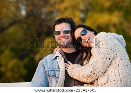 young couple in love/young couple in love - stock photo