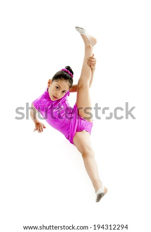 young cute ballet dancer ballerina little stock photo edit now