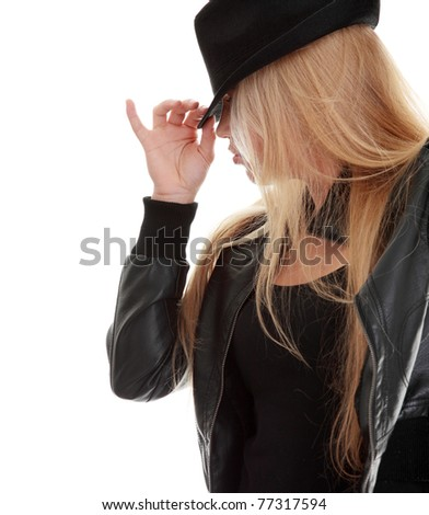 Young female doctor examining with female patient. - stock photo