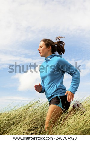 Young female Runner