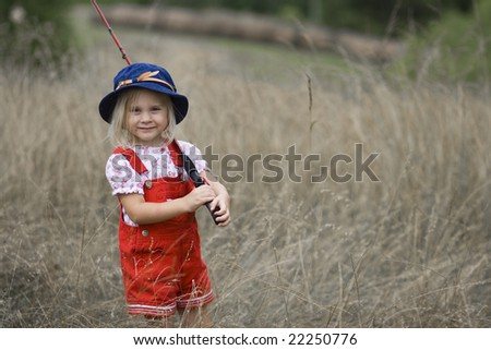 Jason l price 39 s portfolio on shutterstock for Girl fishing pole
