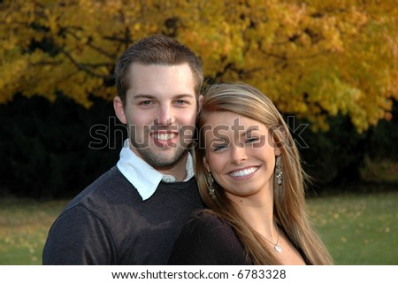 young good-looking couple