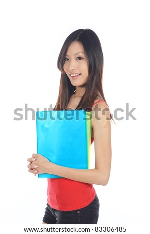 Young Graduate Thinking of Her Career Prospects - stock photo
