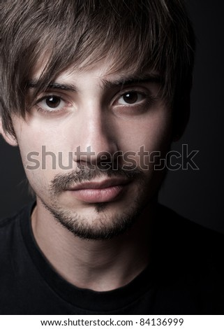 young guy - stock photo