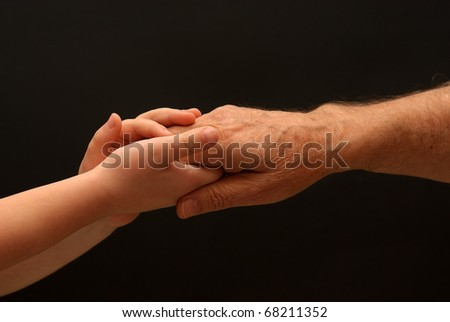 young hand for help